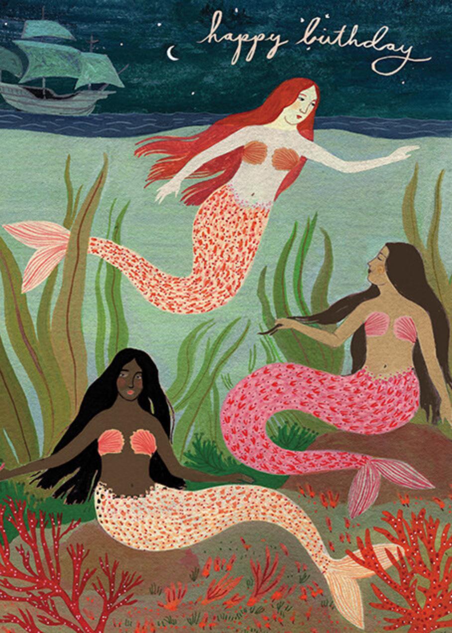 Mermaids (Becca Stadtlander) - Red Cap Cards