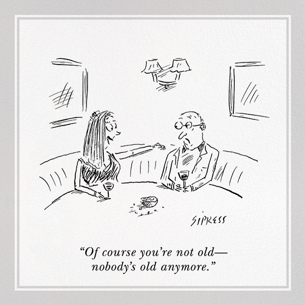 Not Old - The New Yorker - Funny birthday eCards
