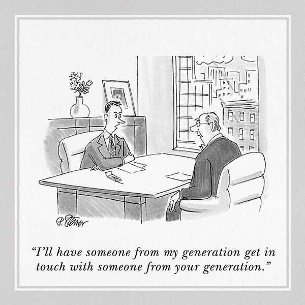 Generation Gap - The New Yorker - Funny birthday eCards