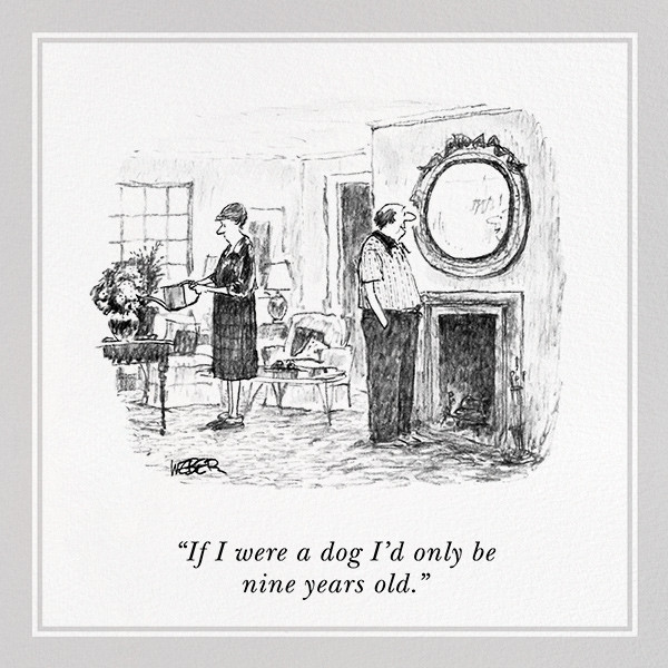 If I Were a Dog - The New Yorker - Funny birthday eCards