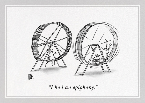 Epiphany - The New Yorker - Just because