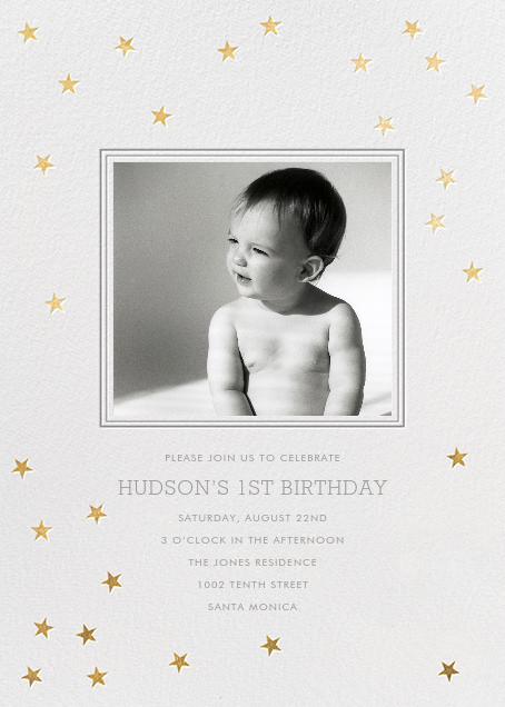 Starry First Birthday - Sugar Paper - Kids' birthday