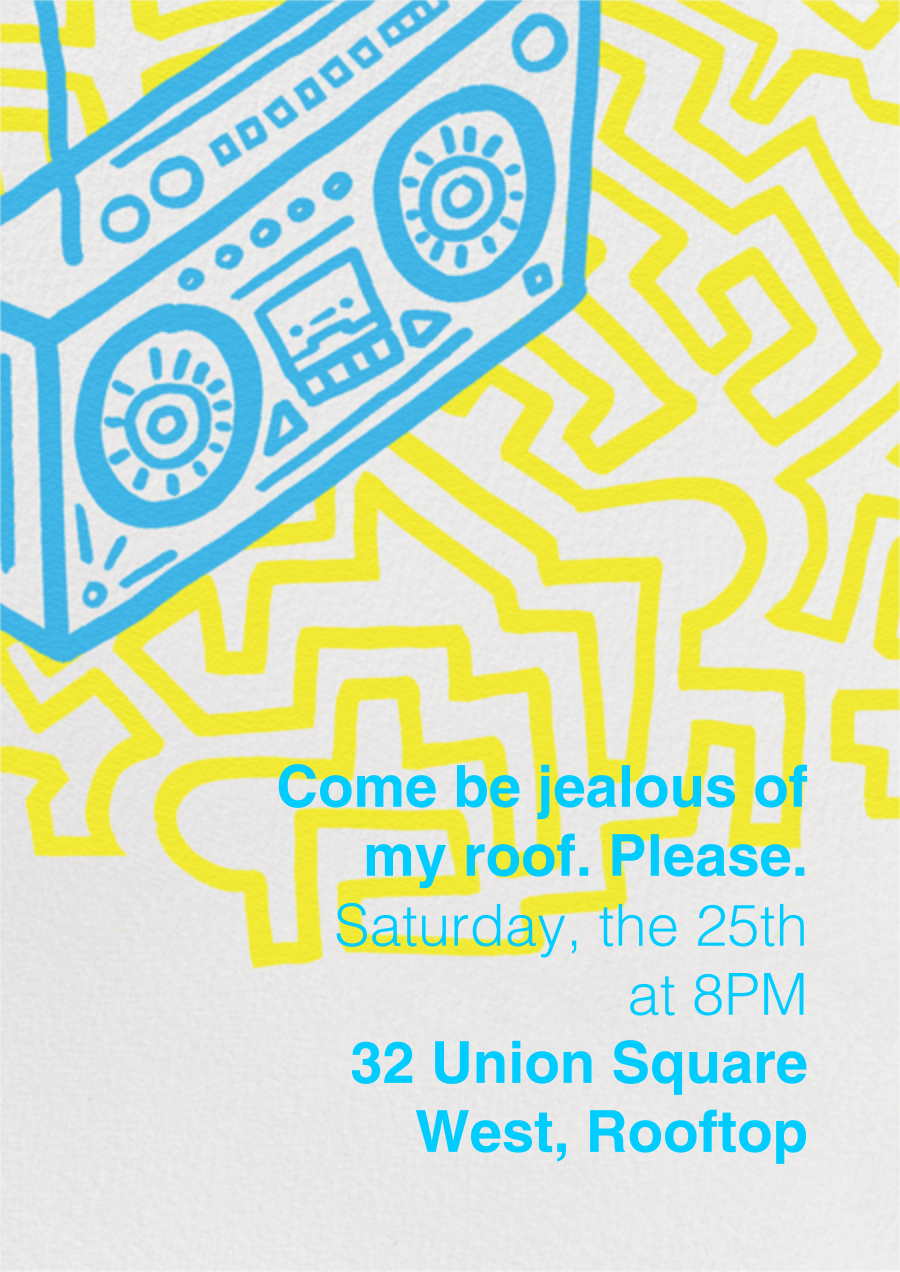 Block Party - Paperless Post - Summer parties