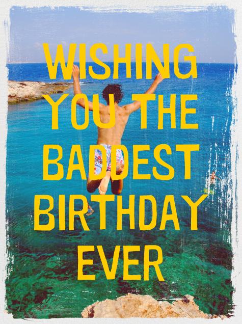 Grunge Border - Paperless Post - Free birthday eCards