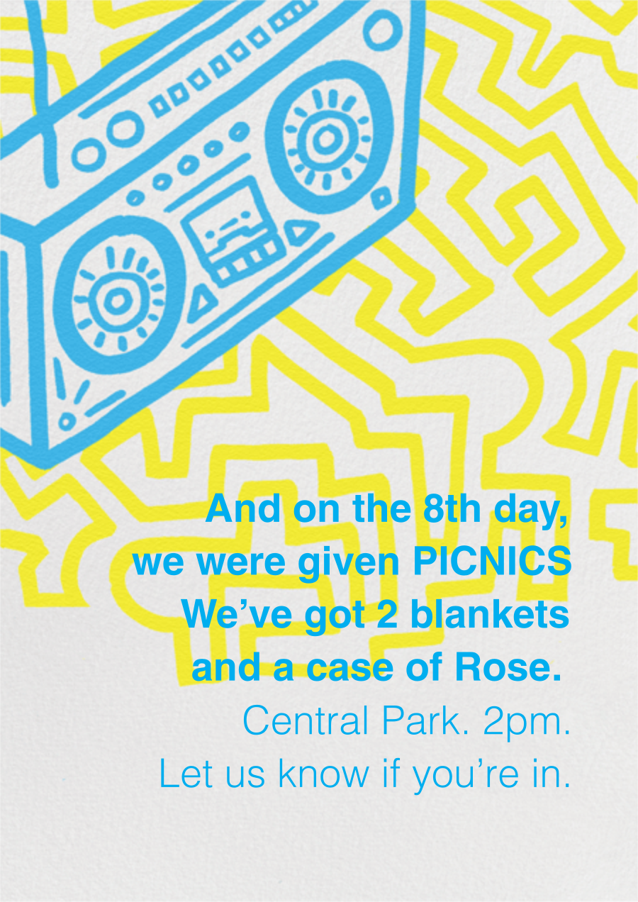 Block Party - Paperless Post - Picnic