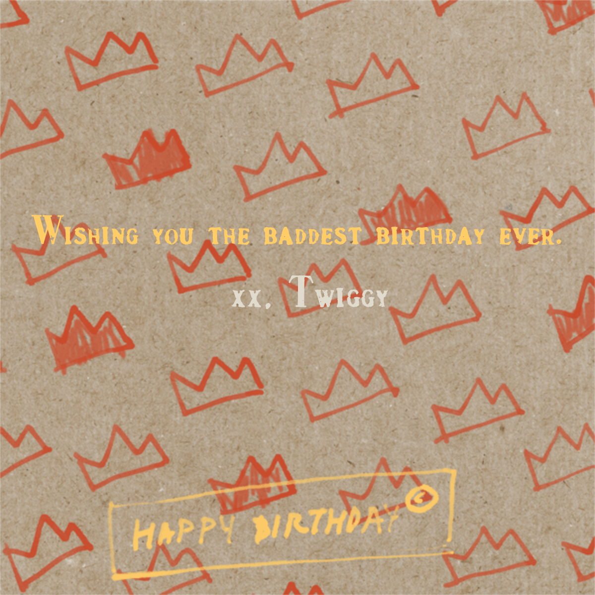 Paper Crowns - Paperless Post - Birthday