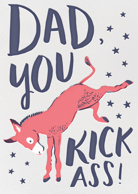 Kick Ass Dad - Hello!Lucky - Father's Day
