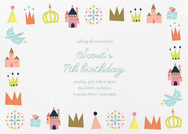 Royal Party - Little Cube - Kids' birthday