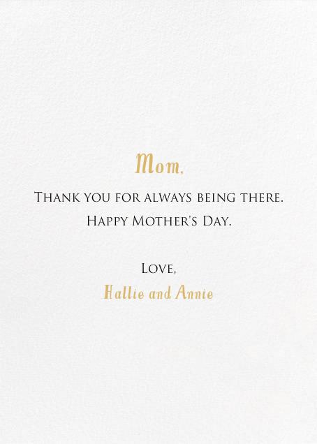 Charm Bracelet - Mr. Boddington's Studio - Mother's Day - card back