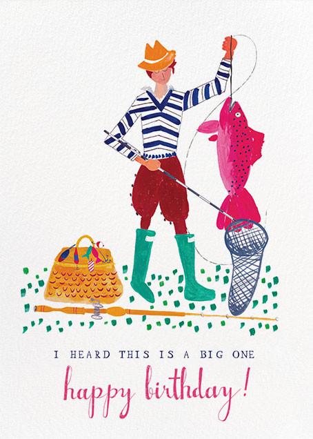 A Big Mackerel - Fair - Mr. Boddington's Studio - Birthday