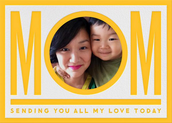 Mom - Yellow - The Indigo Bunting