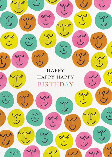 Happy Happy Happy - Mr. Boddington's Studio