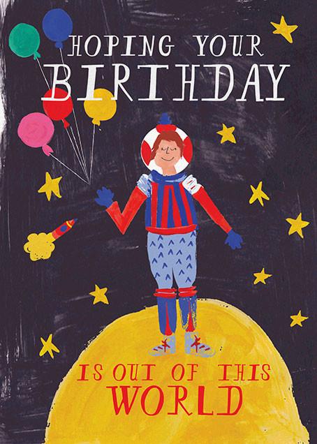 Worldly Birthday - Mr. Boddington's Studio - Birthday