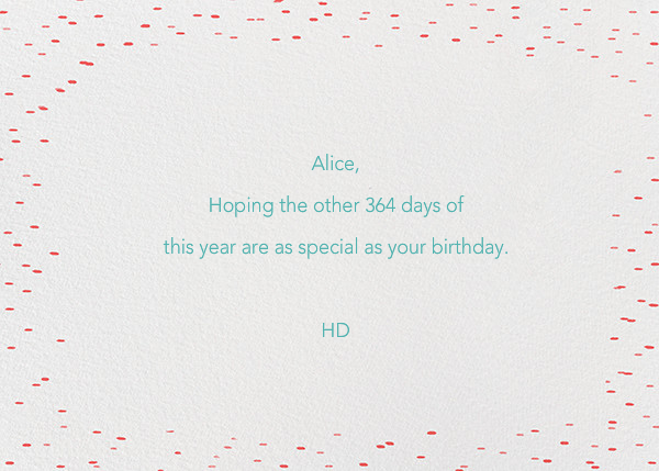 Put the P in Party - Ashley G - Birthday - card back