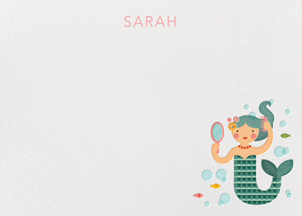 Mermaid (Stationery) - Petit Collage - Kids' stationery