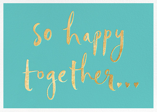 So Happy Together - Blue - kate spade new york - Congratulations