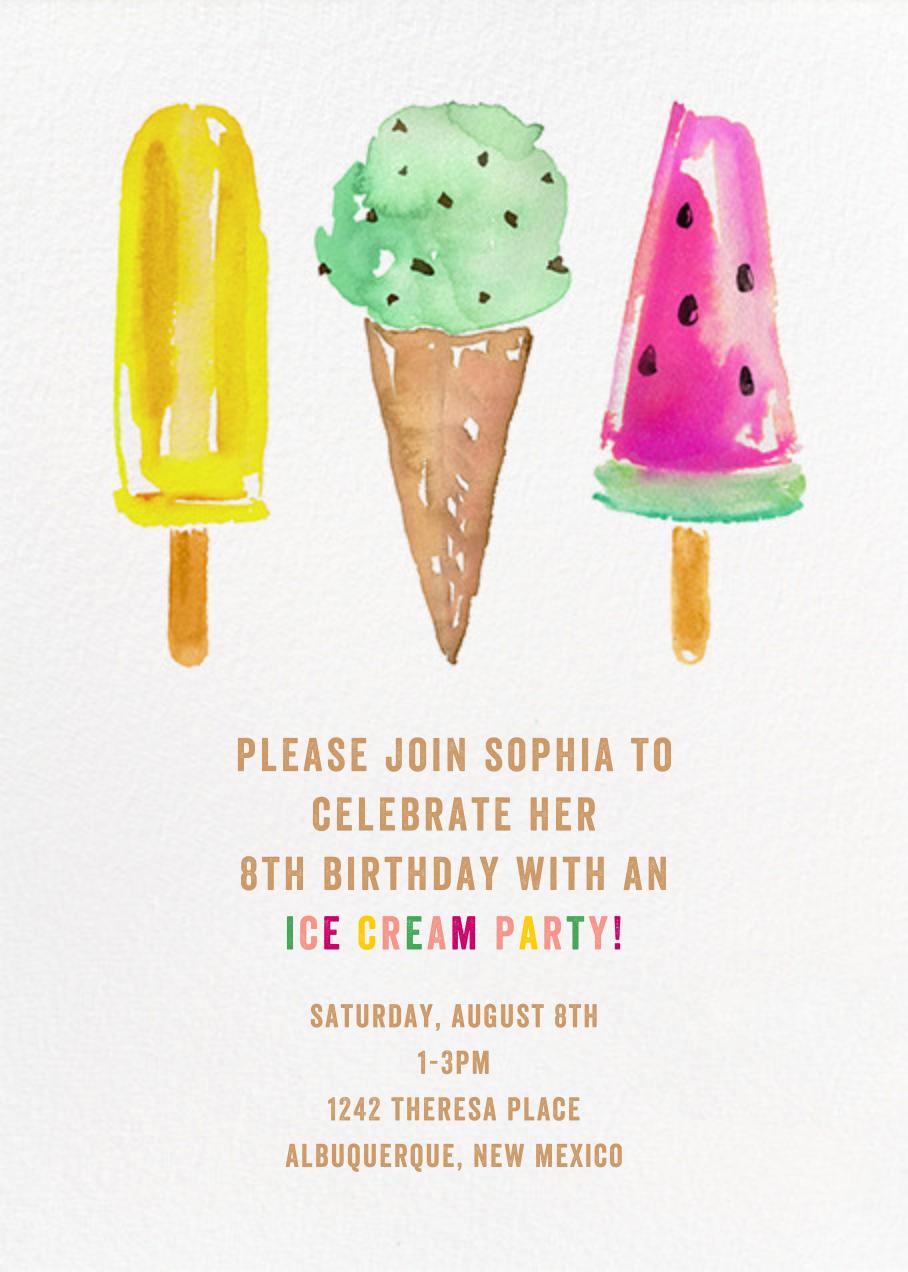 Ice Cream Party - kate spade new york - Kids' birthday