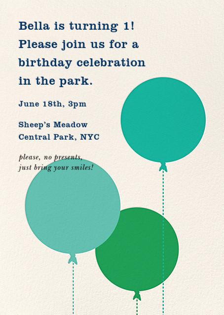 Balloon Baby - Green - kate spade new york - Kids' birthday