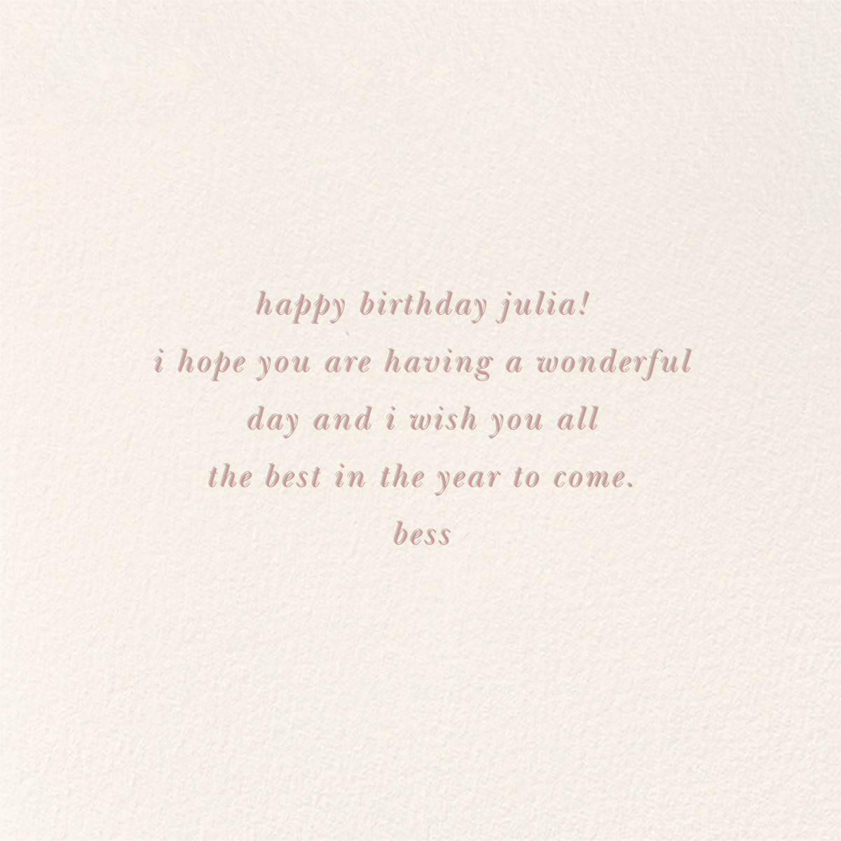 Balloon Birthday (Greeting) - kate spade new york - Winter Favorites - card back