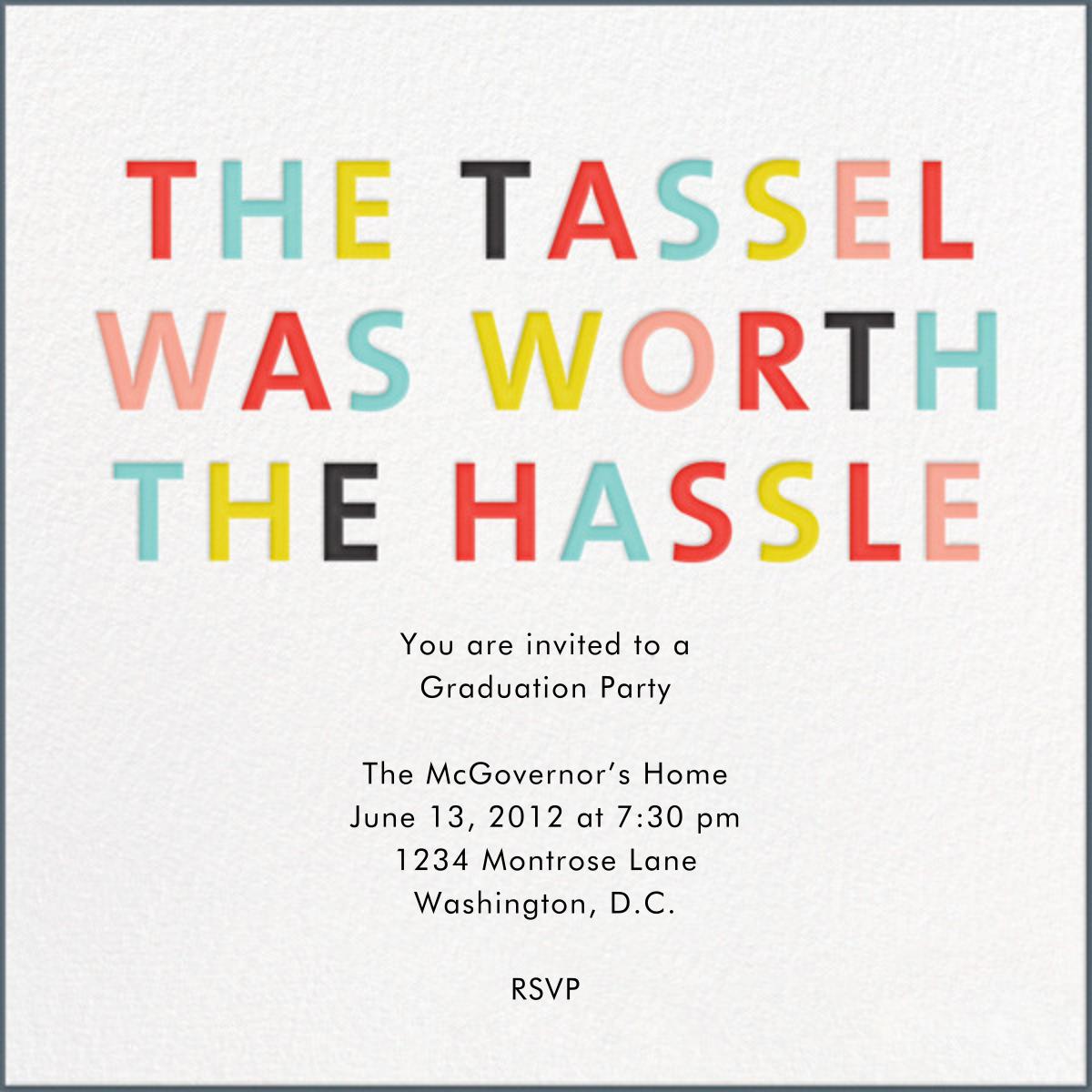 The Tassel - Japanese Mix - Mr. Boddington's Studio - Graduation party