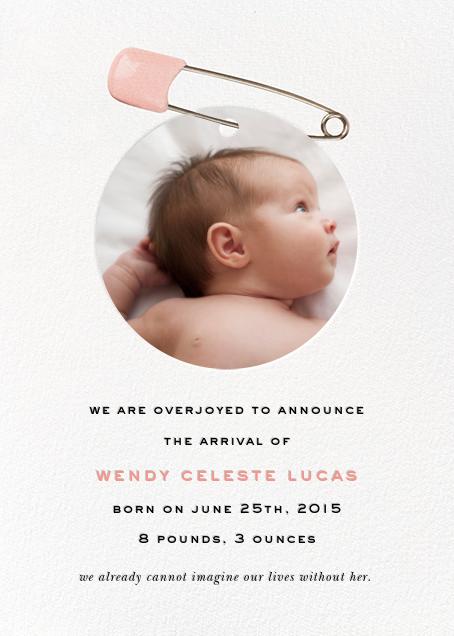 Diaper Pin - Pink - kate spade new york - Birth