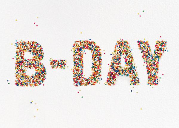 B-Day Sprinkles - kate spade new york - Birthday