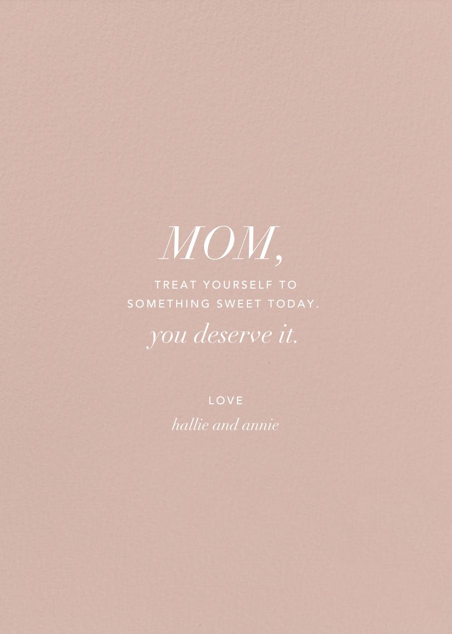Framework (Photo) - Pink/Gold - Kelly Wearstler - Mother's Day - card back