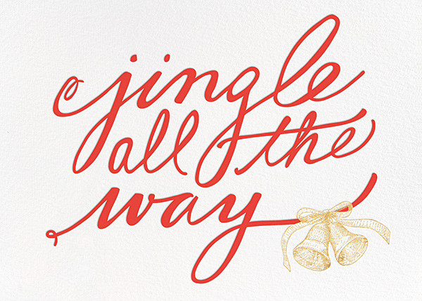 Jingle All the Way - kate spade new york - Holiday cards