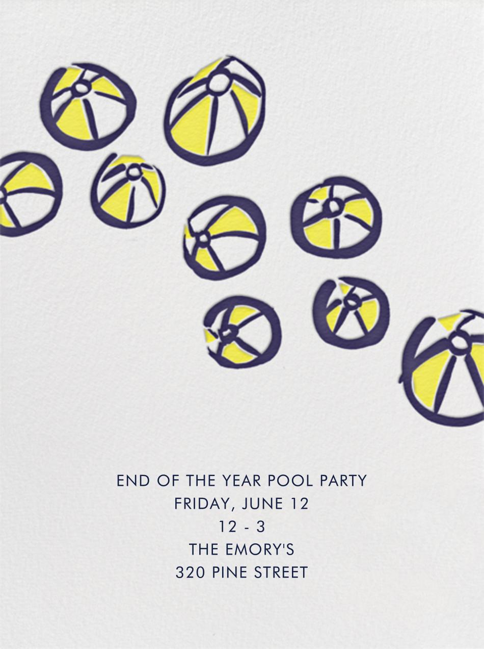 Beach Ball Party - Linda and Harriett - Beach party