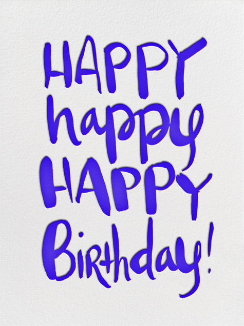 Happy Happy Birthday - Linda and Harriett - Birthday