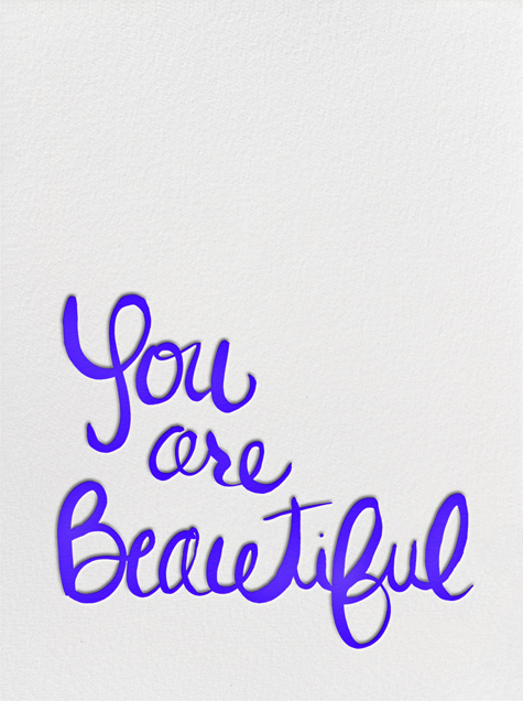 You Are Beautiful - Linda and Harriett - Love cards