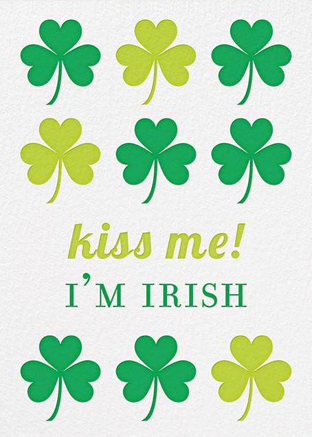 Irish Kisses - Jonathan Adler - St. Patrick's Day
