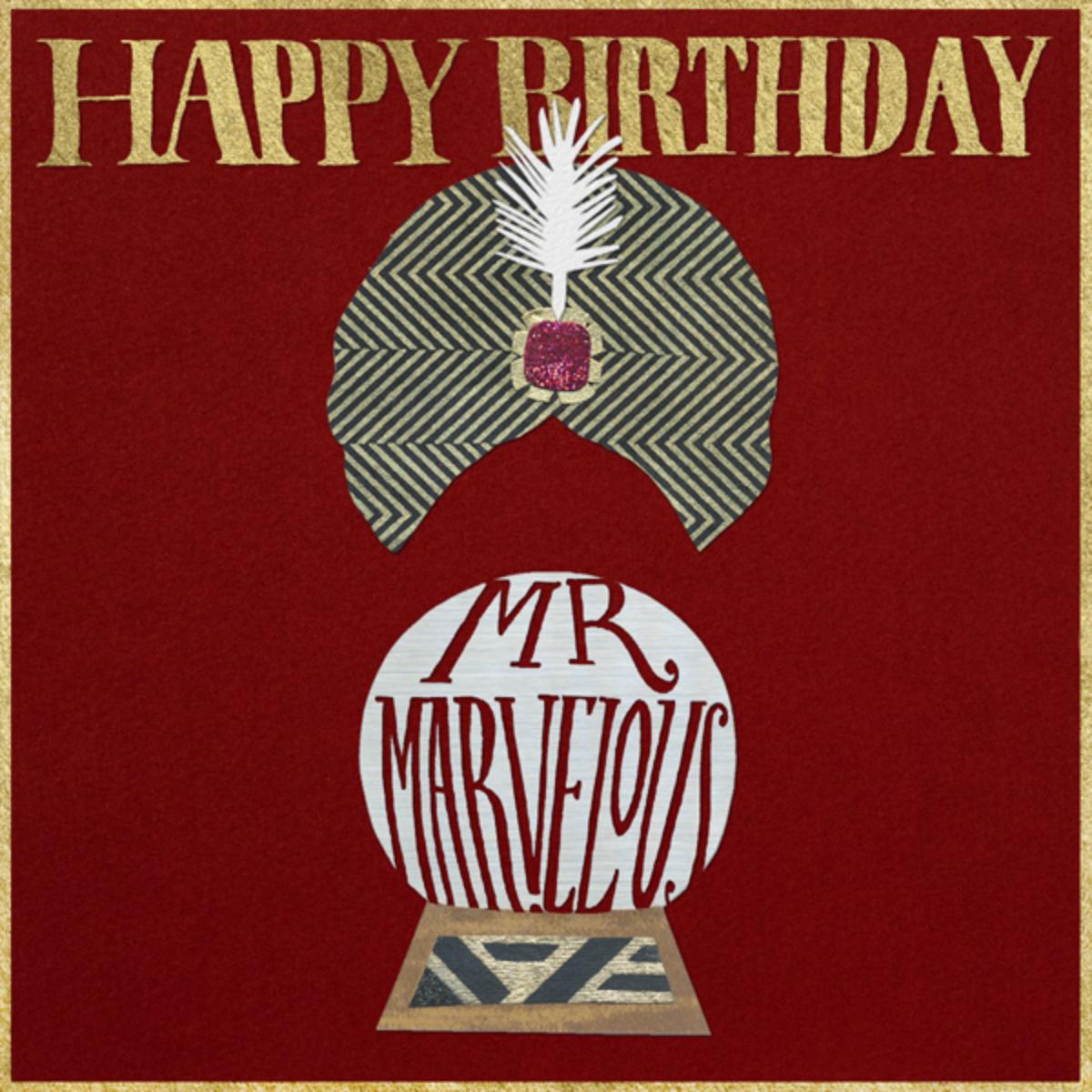 Happy Birthday Mr. Marvelous - Paperless Post
