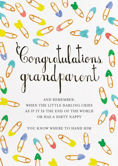 Grandparents Are Adored - Mr. Boddington's Studio