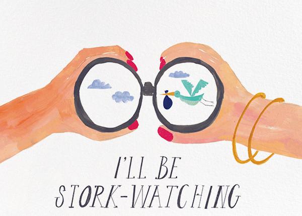 Stork Watch - Mr. Boddington's Studio - Congratulations