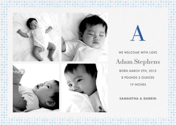 Jacks (Photo) - Blue - Jonathan Adler - Birth