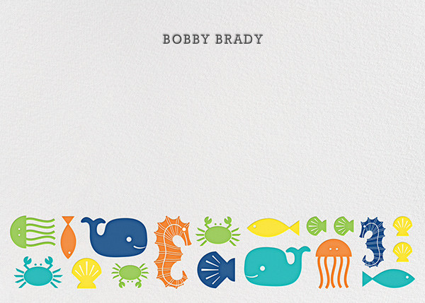 Sea Life - Jonathan Adler - Kids' stationery