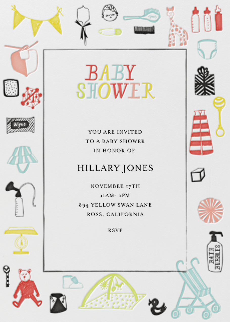 Oh, a Baby! - Mr. Boddington's Studio - Baby shower