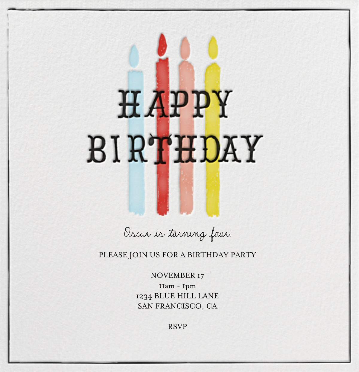 Blow Out the Candles - Four - Mr. Boddington's Studio - Adult birthday