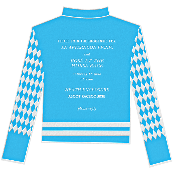 Racing Silk Diamond - Paperless Post - Sports
