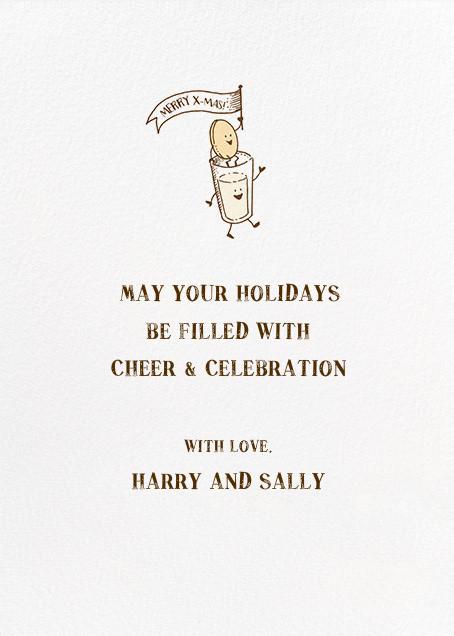 Christmas Parade - Hello!Lucky - Christmas - card back