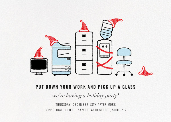 Office Space - Paperless Post - Christmas party