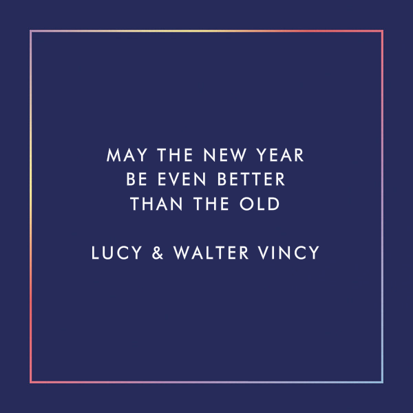 Happy Neon Year - Paperless Post - New Year - card back
