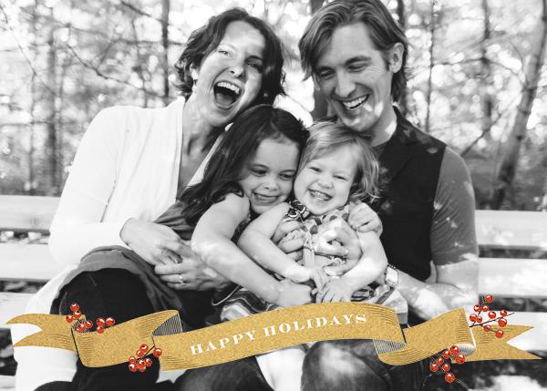 Ribbon of Holiday Joy - Paperless Post