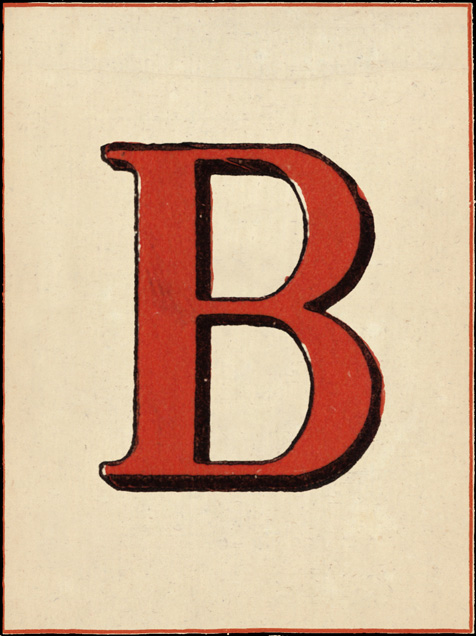 Red Letter - B - John Derian - Barbecue
