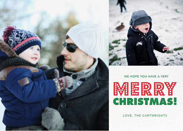 Merry Marquee (Multi-Photo) - Jonathan Adler - Christmas
