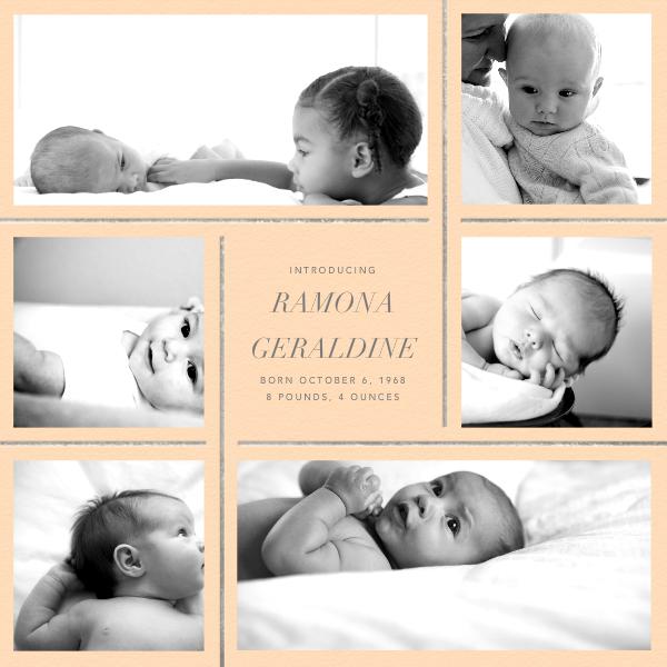 Whitework - Bellini - Paperless Post - Birth