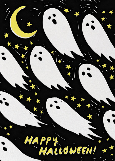 Ghostly Greetings - Hello!Lucky - Halloween