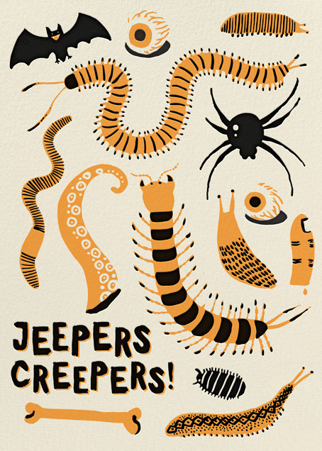 Jeepers Creepers (Greeting) - Hello!Lucky - Halloween