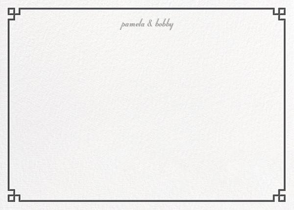 Nixon Border (Stationery) - Jonathan Adler - Personalized stationery